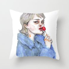 Sky lollipop  Throw Pillow