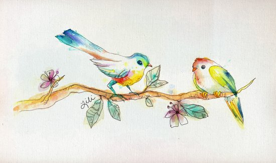 When Love Was Spring Art Print