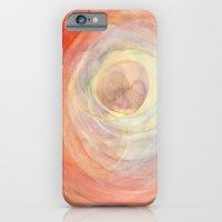 Colour Swirl Retro iPhone 6 Slim Case