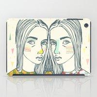 Last Sunset Twins iPad Case