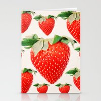 Strawberry Explosion Stationery Cards
