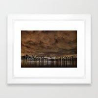 El Niño Skies Framed Art Print