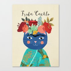 Frida Cathlo Canvas Print