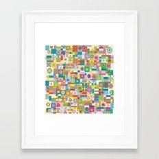 Happy - 8 Framed Art Print