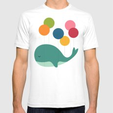 Dream Walker Mens Fitted Tee White SMALL