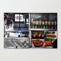 Vendor Canvas Print