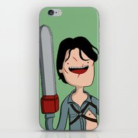 Adventure Time with Ash iPhone & iPod Skin