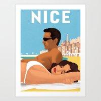So Nice In Nice Art Print