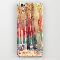 Woods iPhone & iPod Skin