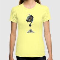 2043 Womens Fitted Tee Lemon SMALL