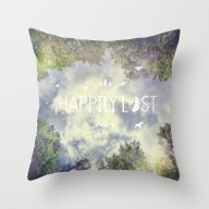 Happily Lost II Throw Pillow