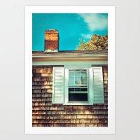 Cape Window Art Print