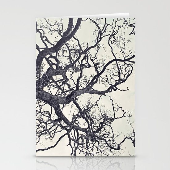 cold fall Stationery Card