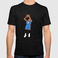 Thunder Up Mens Fitted Tee Tri-Black SMALL