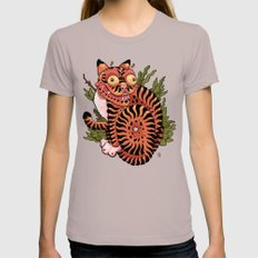 Minhwa Womens Fitted Tee Cinder SMALL