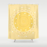 70's Vibe Shower Curtain