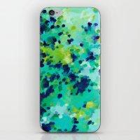 Aquamarine Addiction iPhone & iPod Skin