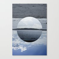 Split Screen Island Canvas Print
