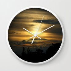 a darkness within... Wall Clock