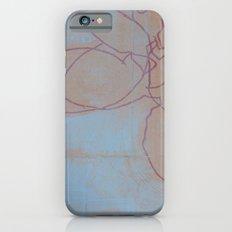 Leaves in Blue II iPhone 6s Slim Case