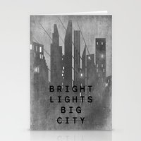 Bright Lights Big City Stationery Cards