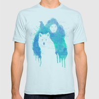 Lord Snow Mens Fitted Tee Light Blue SMALL