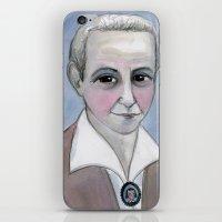 Gertrude Stein Literary Portrait iPhone & iPod Skin