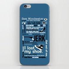 Supernatural - Sam Winch… iPhone & iPod Skin