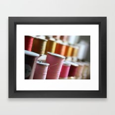 Spools Framed Art Print