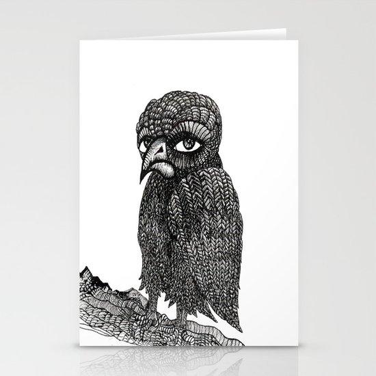 Morbid bird Stationery Card