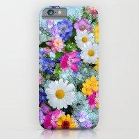 Fresh Flowers iPhone 6 Slim Case