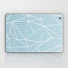 Ab Lines Sky Blue Laptop & iPad Skin