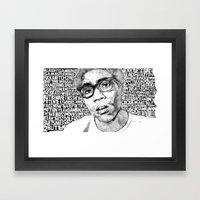 Gambino Framed Art Print