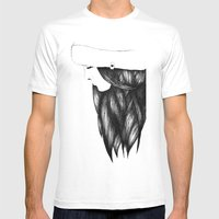 Snow Girl Mens Fitted Tee White SMALL