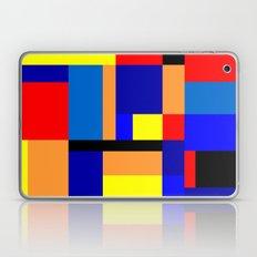 Homage To Mondrian #2 Laptop & iPad Skin