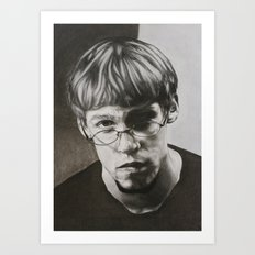 Looking: Nick Pruitt  Art Print
