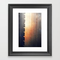 Brick Mystery Framed Art Print