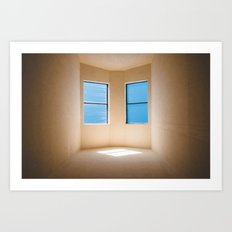 Pleasing Light, 118 minutes later Art Print