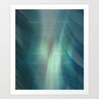 Winding Light Art Print