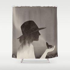 Spirit Animal Shower Curtain