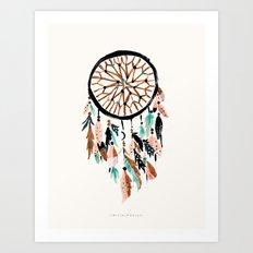 Phoenix - Dream Catcher Art Print