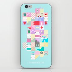 For Japan with love 4 iPhone & iPod Skin
