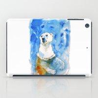 Polar Bear Inside Water iPad Case