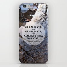 All shall be well iPhone & iPod Skin