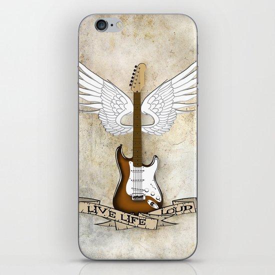 Live Life Loud iPhone & iPod Skin