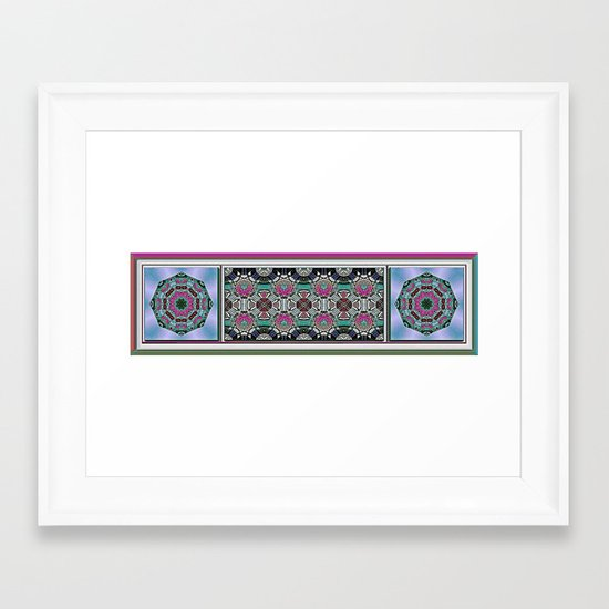 Hawaiian Garden 3 Framed Art Print