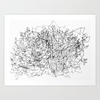 Triumph Over Chaos. Art Print