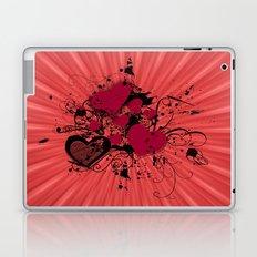 Valentine Day Illustration Laptop & iPad Skin