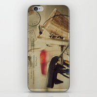 I just want to ride my bike today iPhone & iPod Skin