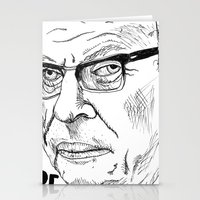 JEAN-PAUL SARTRE Stationery Cards